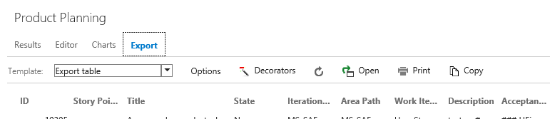 The new Export tab on Queries makes is faster and easier to export